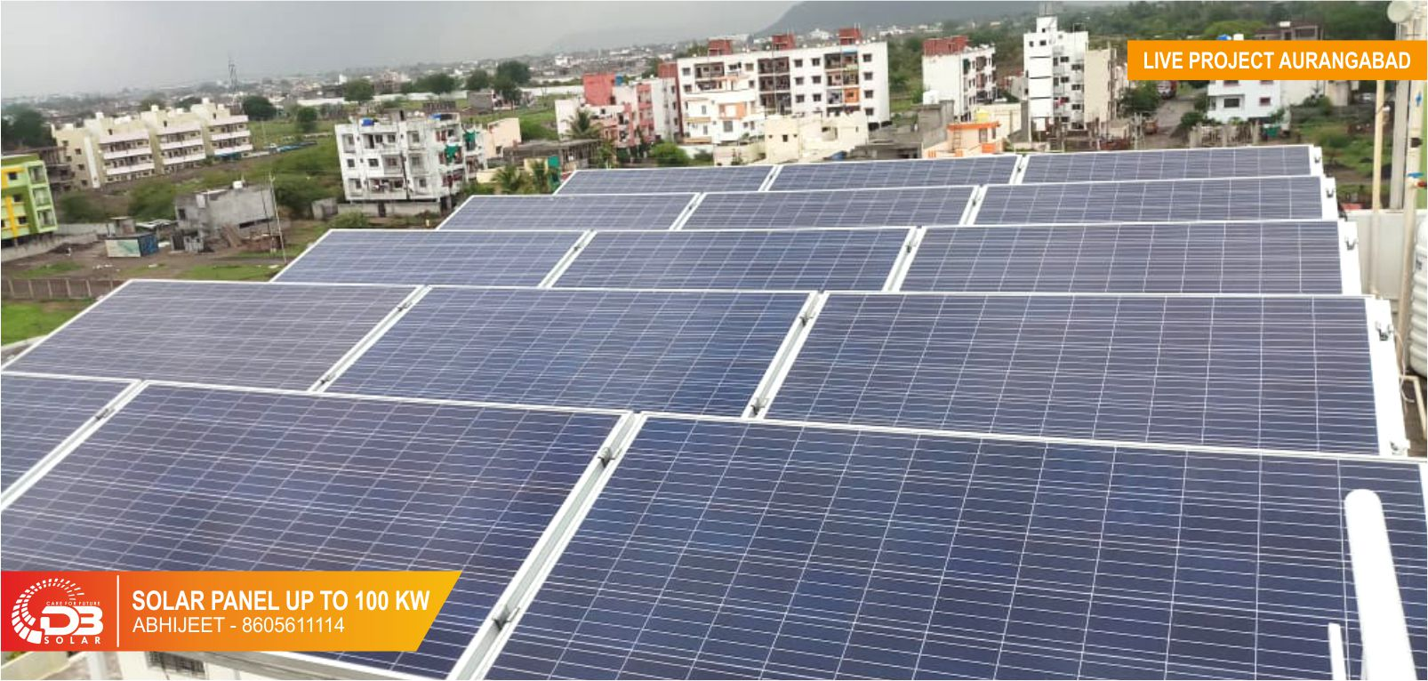 DB Solar-Care For Future Solar Panel For Your Home & Business